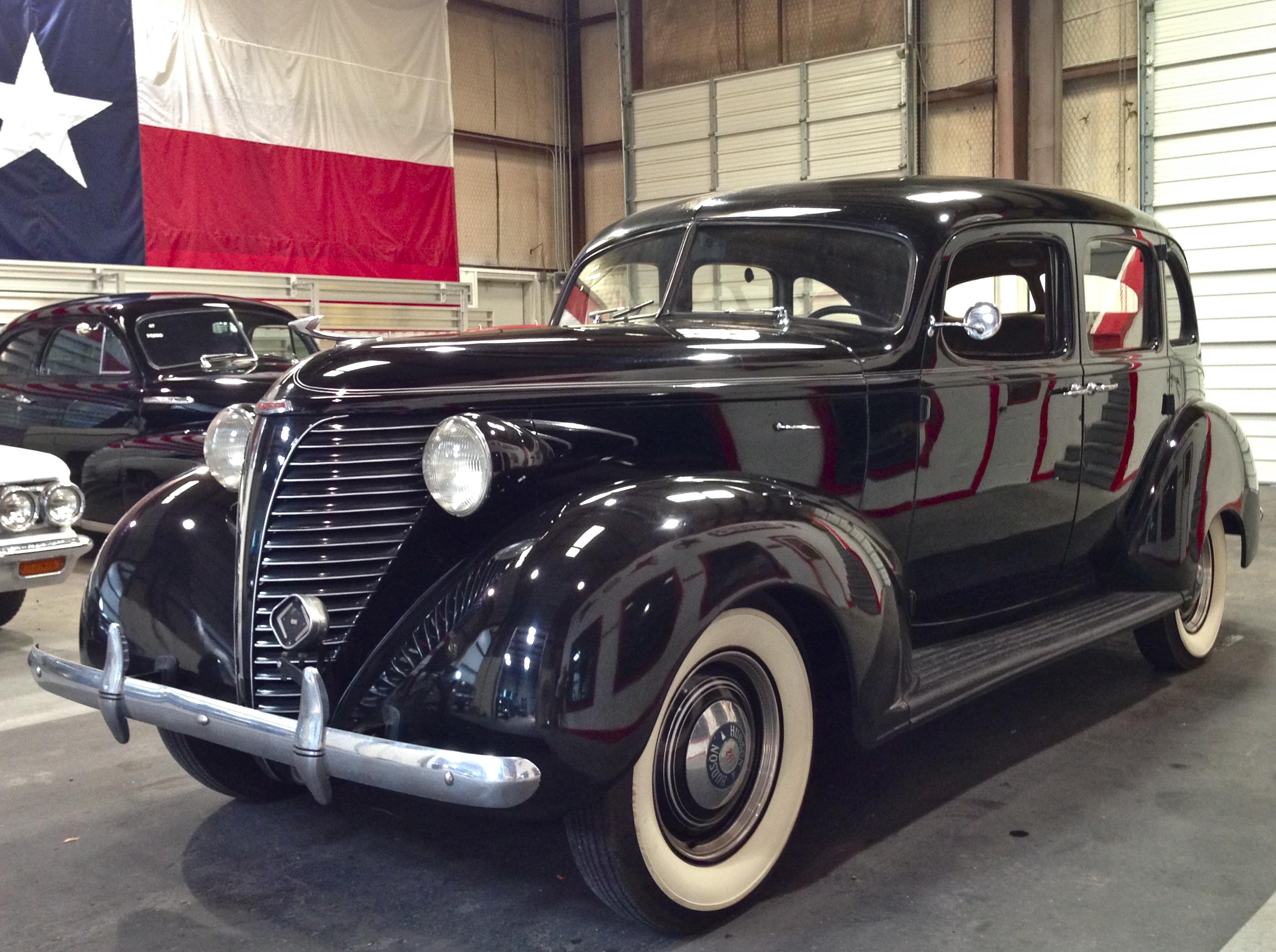 1938 Hudson 112 4dr 19 500 Lone Star Classic Cars